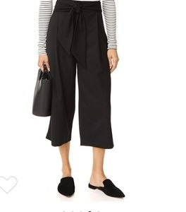 Black Wide Legged Pants